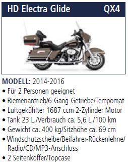 HD Electra Glide QX4